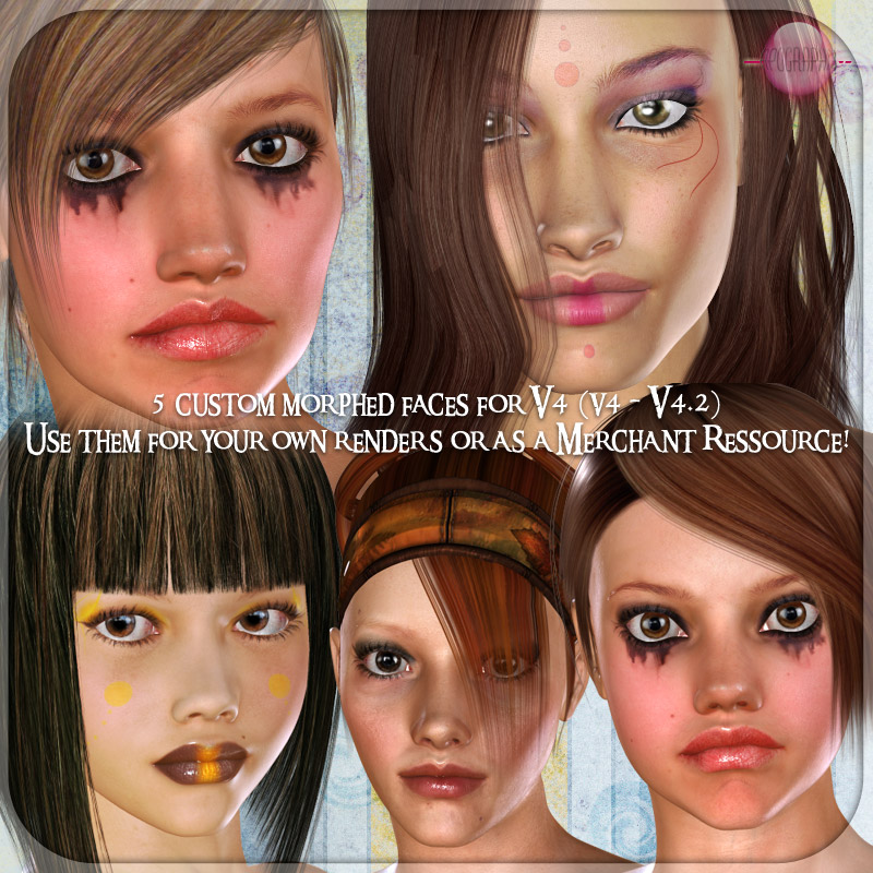 ApoGraphix' Face Ressources Vol I for V4