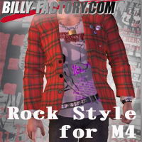 M4 Rock Style 3D Figure Assets billy-t