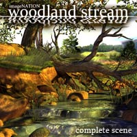 IN Woodland Stream 3D Models winnston1984