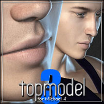 Topmodel Kit 3: Poses, Character, Clothing for M4 3D Figure Assets outoftouch