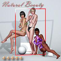 Natural Beauty Lights 3D Models Software SaintFox