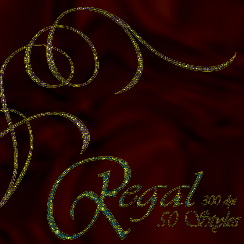 Regal - Photoshop Styles