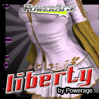 Liberty for V4/A4/PowerGirl/Alice/Elite 3D Figure Assets Legacy Discounted Content powerage