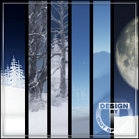 MAGICAL SNOW WORLDS for Multiplane Cyclorama 3D Models outoftouch