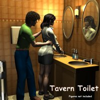 Tavern - Toilet Room Props/Scenes/Architecture greenpots