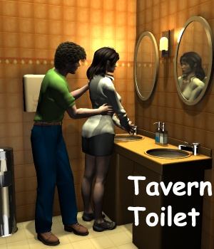 Tavern - Toilet Room 3D Models greenpots