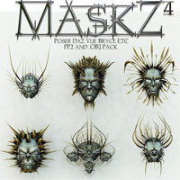 Mask-Z 4 Themed Props/Scenes/Architecture Poisen
