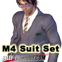 M4 Suit Set 3D Figure Assets billy-t