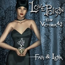 Love Poison 3D Figure Assets 3D Models ilona