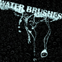 Splash & Water Brushes Themed 2D And/Or Merchant Resources mystikel