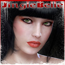 Jingle Belle for V4.2 2D And/Or Merchant Resources Characters Software Themed Poses/Expressions ilona