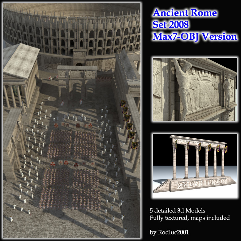 Ancient Rome Set 2008 - Max7 Obj Version