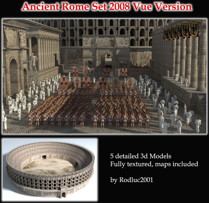 Ancient Rome Set 2008 - Vue Version