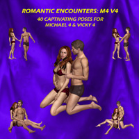 Romantic Encounters: M4 V4 Poses/Expressions StratoCumulus