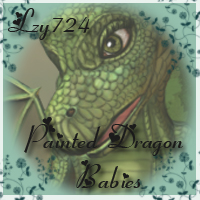 Lzy724's Painted Dragon Babies 2D And/Or Merchant Resources Lzy724