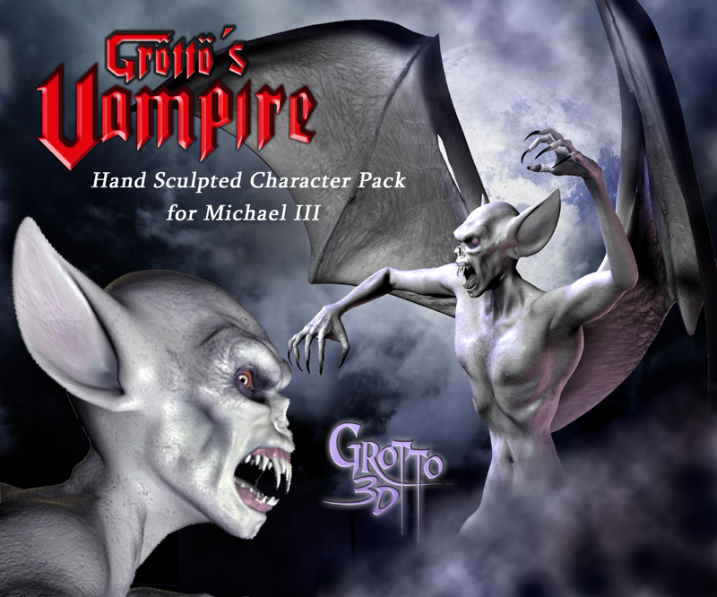 Grotto's Vampire for Michael 3
