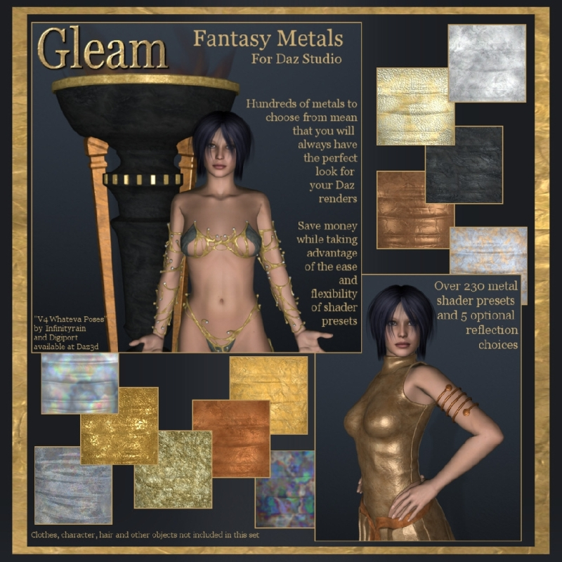 Gleam - Fantasy metals for DS
