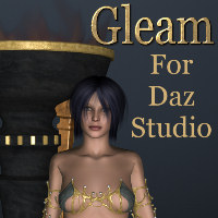 Gleam - Fantasy metals for DS 3D Figure Assets 3D Models Khory_D