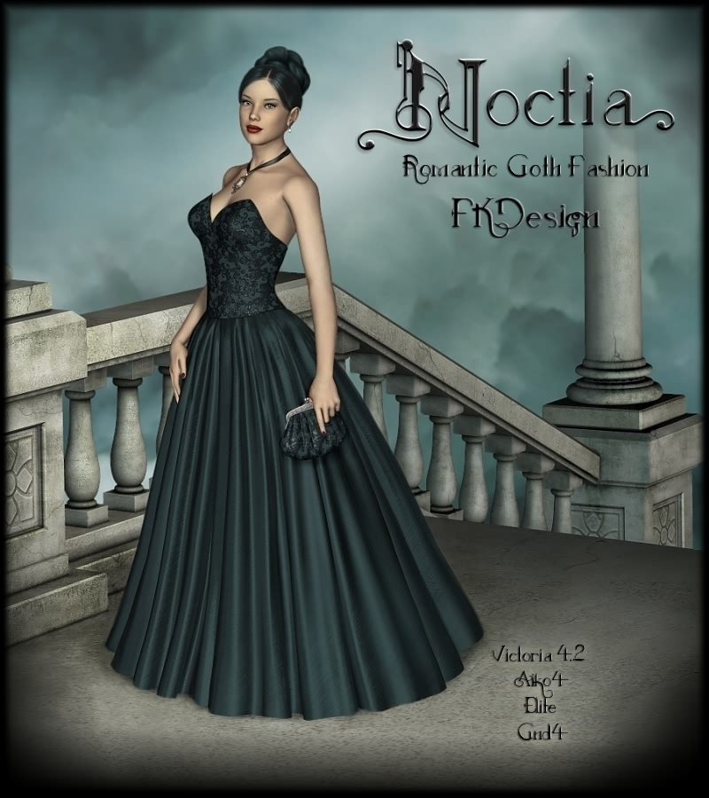 Noctia - RomanticGothFashion