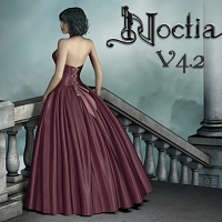 Noctia - RomanticGothFashion Accessories Clothing fabiana