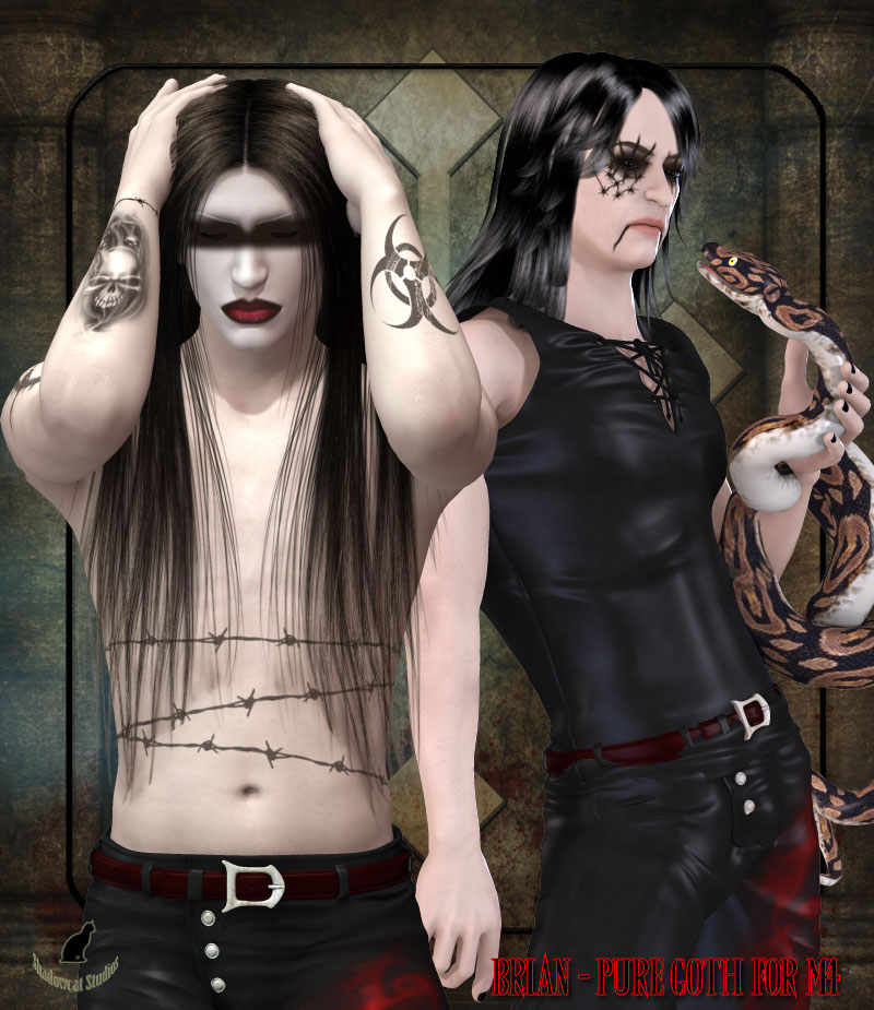 Brian - Pure Goth for M4