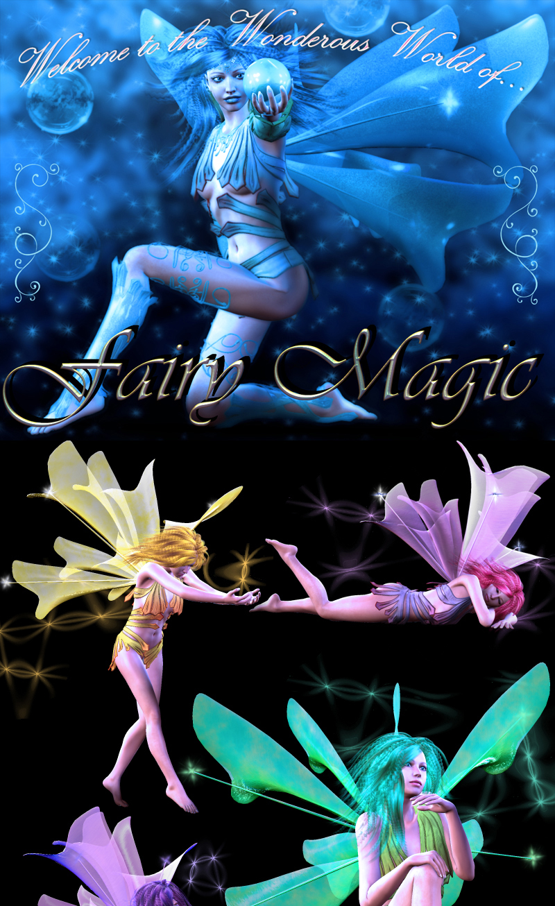 Fairy Magic - Poses for V4