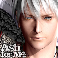 MH Ash for M4 3D Figure Essentials 3D Models Gaming manihoni