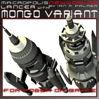Macropolis New Worlds: Lancer with Mongo Variant  IanMPalmer