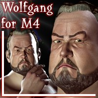 Wolfgang For M4 3D Figure Assets Arduino