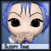 Sleepy Time for Pajama Fun  Silver