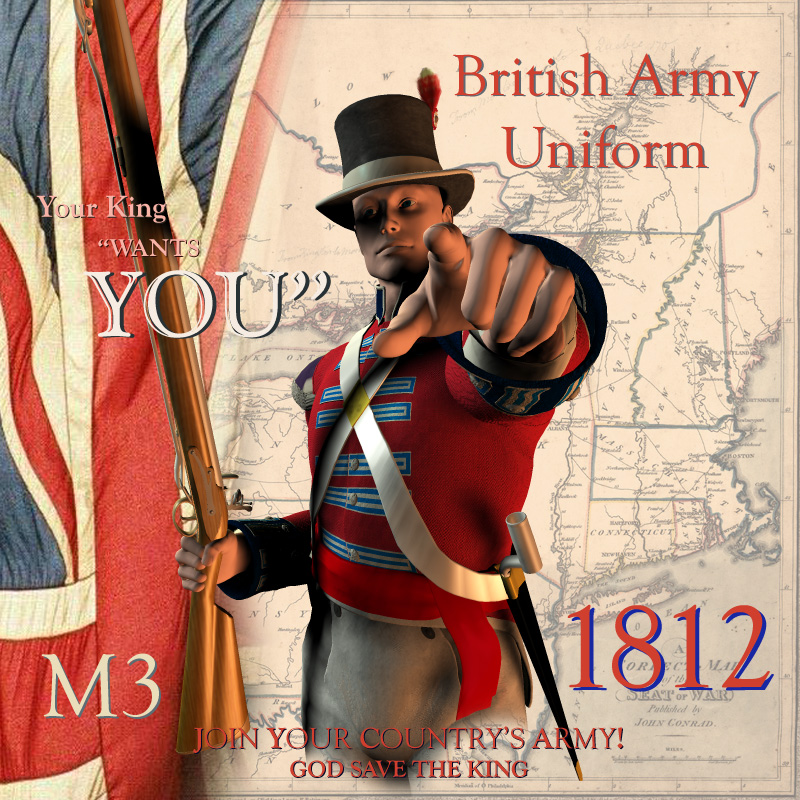 1812 British Army Uniform
