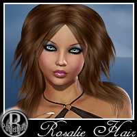 Rosalie Hair for V4, A4, G4 Hair Themed RPublishing