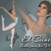 El Cisne - Poses 3D Figure Essentials fabiana