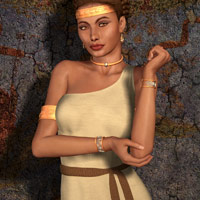V4 Grecian Outfit image 1