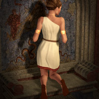 V4 Grecian Outfit image 2