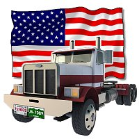 US Truck (for Poser) 3D Models VanishingPoint