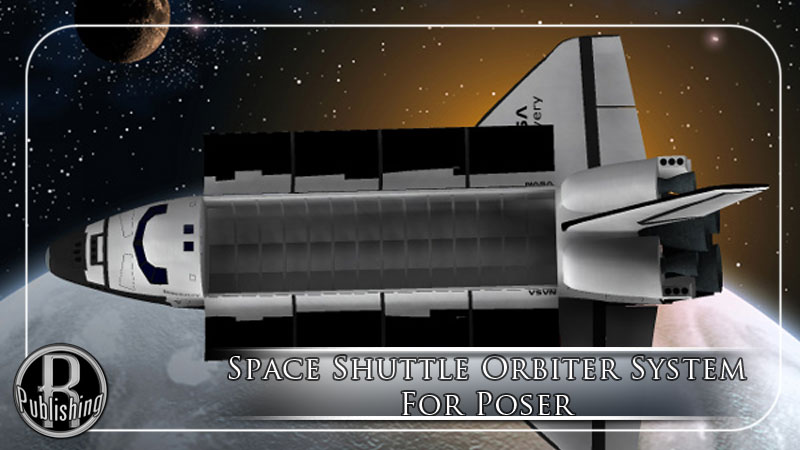 Space Shuttle Orbiter (Poser & OBJ)