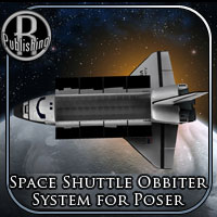 Space Shuttle Orbiter (Poser & OBJ) Transportation Themed Props/Scenes/Architecture RPublishing