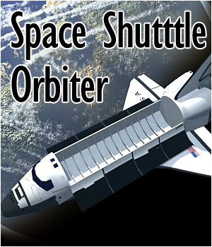 Space Shuttle Orbiter (Poser & OBJ) 3D Models RPublishing