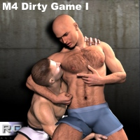 M4 DIRTY GAME 3D Figure Essentials RO_MAN