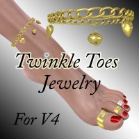 Twinkle Toes Jewelry by DreamerZ_Loft