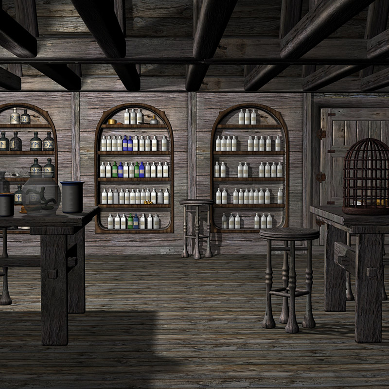 HL2 - The Apothecary or Wizards Shoppe