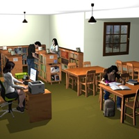 School Library image 5