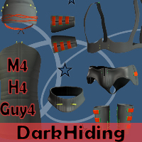Dark Hiding for M4  WhopperNnoonWalker-