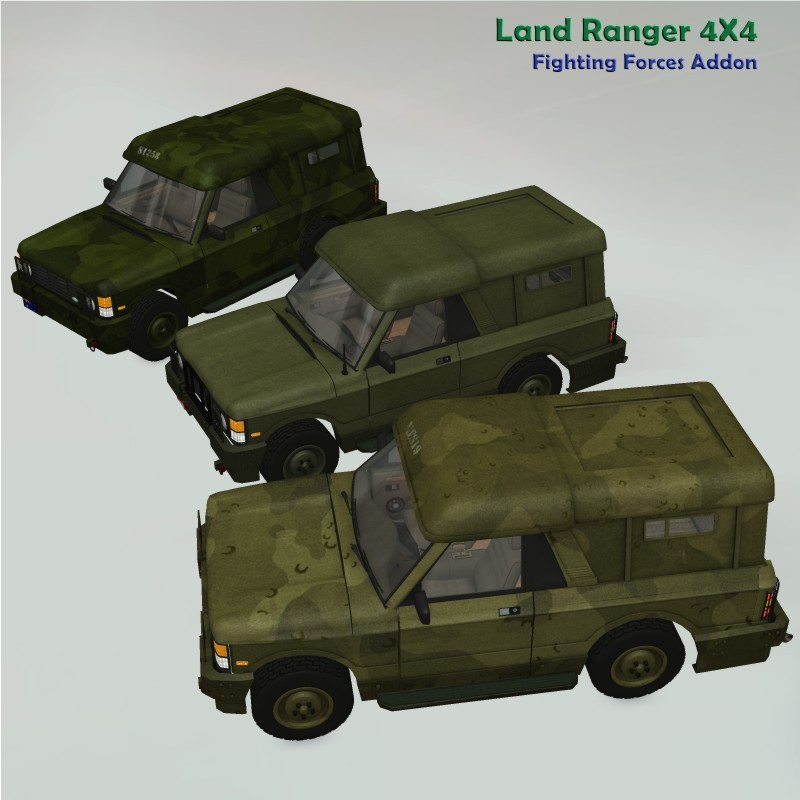 Land Ranger Fighting Forces addon