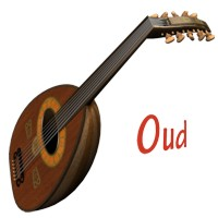 Oud Musical Instrument 3D Models 3D Figure Essentials Simon-3D