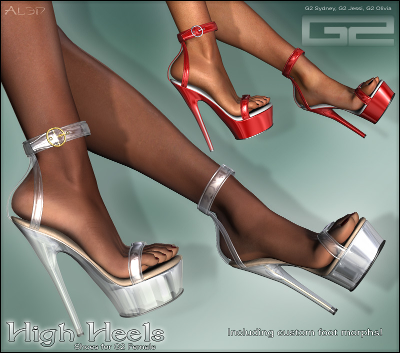 HighHeel Shoes for G2Female