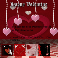 Happy Valentine 3D Models 2D Graphics capelito