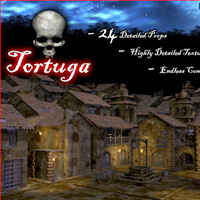 Tortuga Port of Pirates 3D Models 3D Figure Assets LukeA