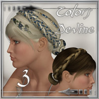Colors Divine 3 - Real Hair for Divine Hair 3  ilona